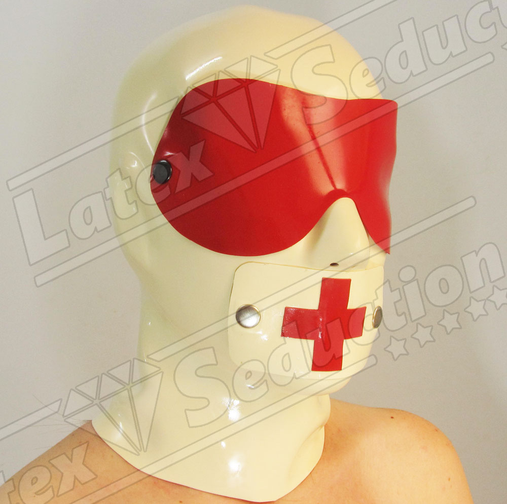 Clinical Heavy Rubber Hood - White Set