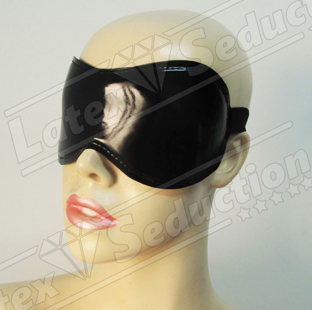 Smooth Latex Blindfold