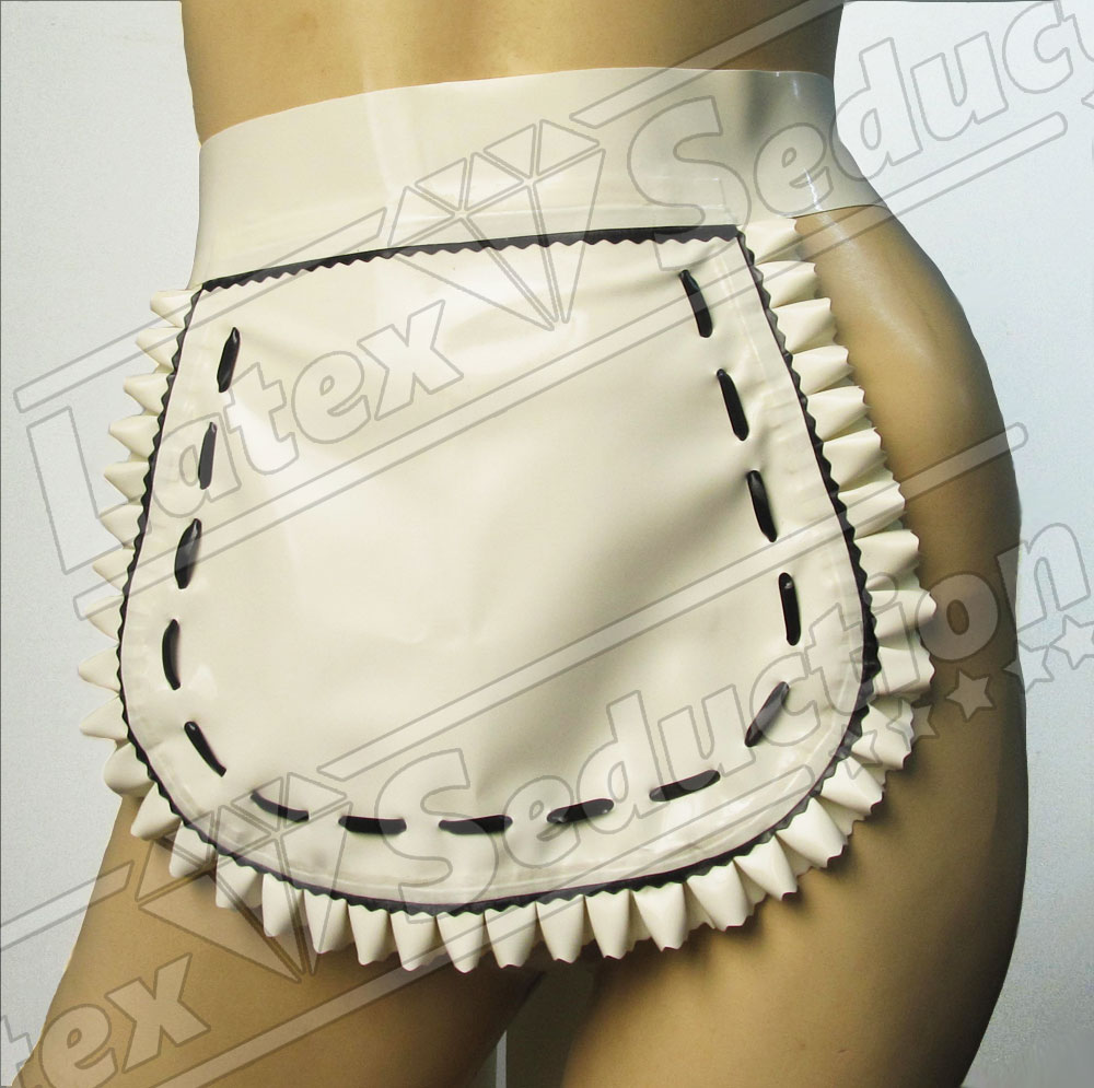 Latex Maid Apron