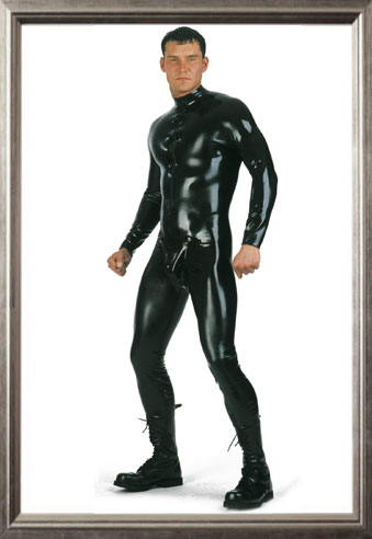 Catsuit with Codpiece